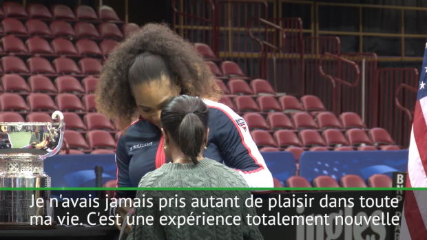 : Fed Cup - Serena - 'Devenir la meilleure maman possible'