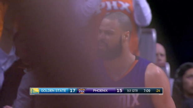 WSC: Devin Booker with 10 Assists against the Warriors