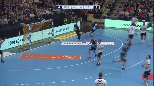 EHF Cup: Füchse Berlin - Balatonfüredi | DAZN Highlights