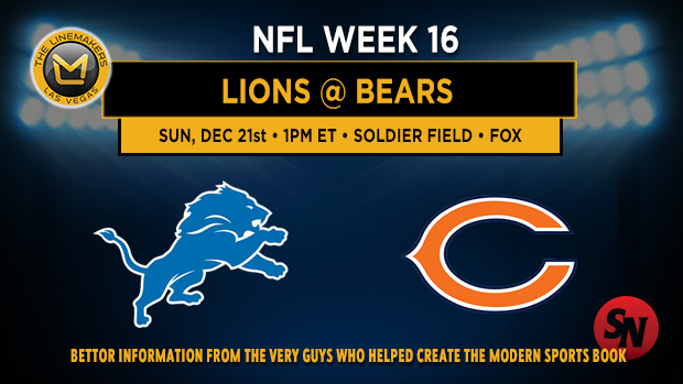 Detroit Lions @ Chicago Bears