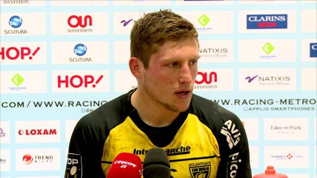 Top 14 - 13e j. : Berger : 'Le score est lourd'
