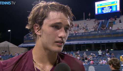 Zverev Interview: ATP Washington QF