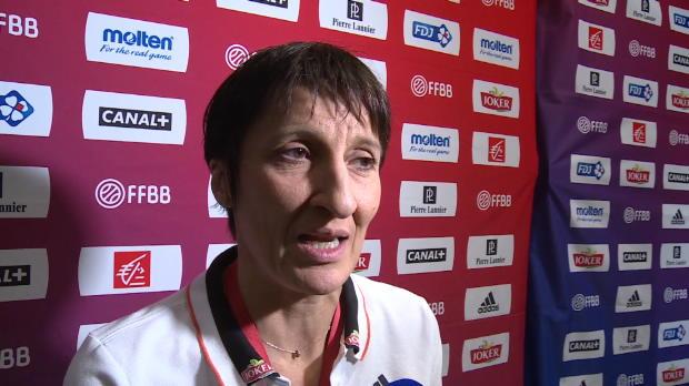 "Basket : FIBA - EuroBasket 2015 (F) - Garnier - ""Gruda, un élément indispensable"""