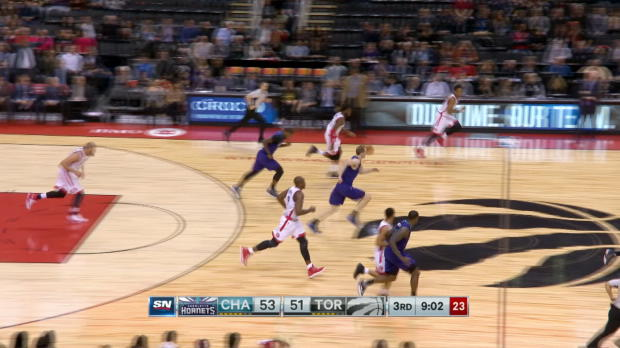 Block of the Night - Jonas Valanciunas