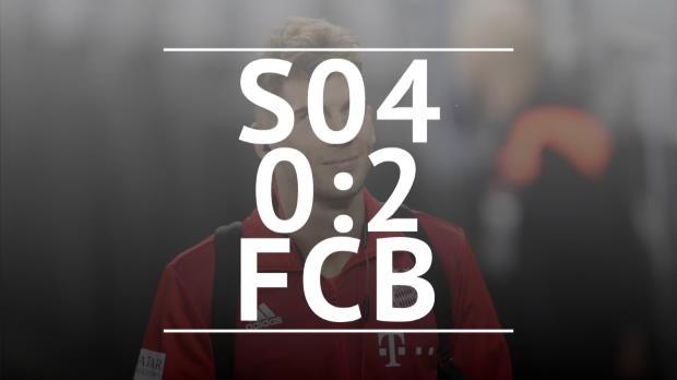 Fast Match Report: Schalke 04 - FC Bayern