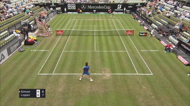Tennis : Stuttgart - Simon tombe face à Feliciano Lopez