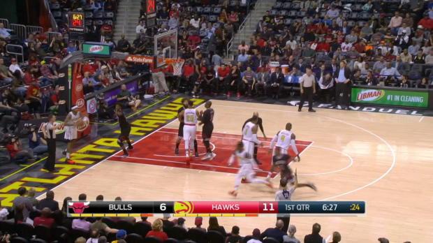 GAME RECAP: Hawks 102, Bulls 93