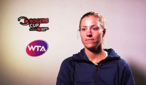 Kerber Interview: WTA Montreal QF