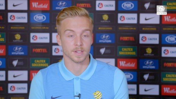 FFA TV | Jeggo eyeing Socceroos debut
