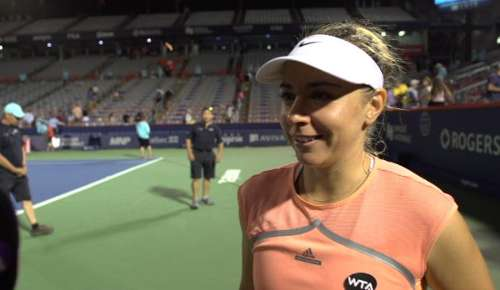 Kucova Interview: WTA Montreal QF