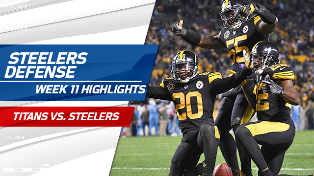 Steelers defense highlights | Week 11