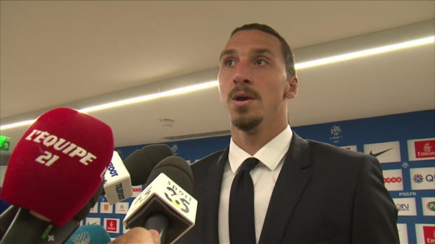 "Foot : PSG - Ibrahimovic : ""On a manqué de chance"""