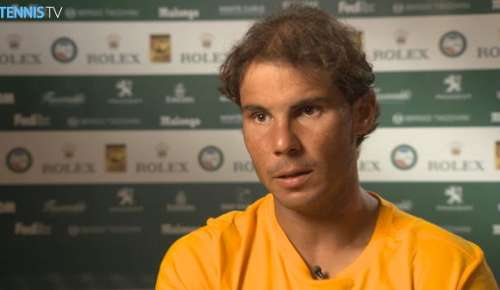Nadal Interview (Spanish): ATP Monte-Carlo QF