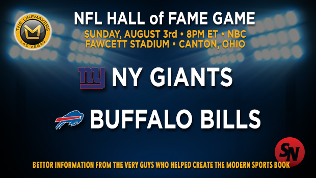 NFL Hall of Fame Game: Giants Vs Bills