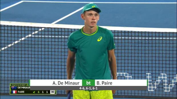 Tennis : Sydney - Paire ne verra pas la finale