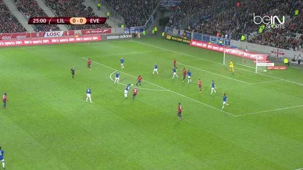 L.Europa : Lille 0-0 Everton