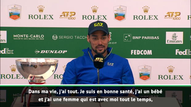 """Basket : Monte-Carlo - Fognini :""""Je suis heureux"""""""