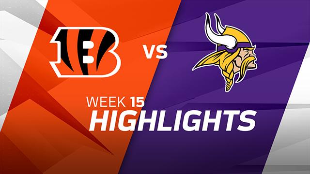 Cincinnati Bengals vs. Minnesota Vikings highlights | Week 15