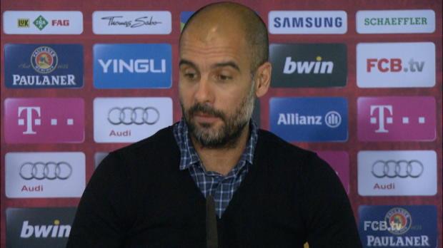 "Foot : Bundesliga - Bayern Munich, Guardiola : ""Après la Roma, Gladbach"""