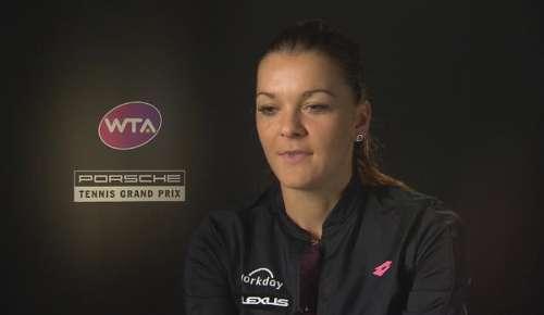 Radwanska Interview: WTA Stuttgart QF
