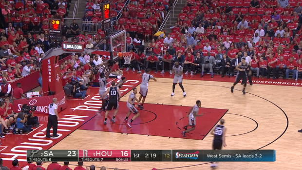 Block of the Night - Clint Capela