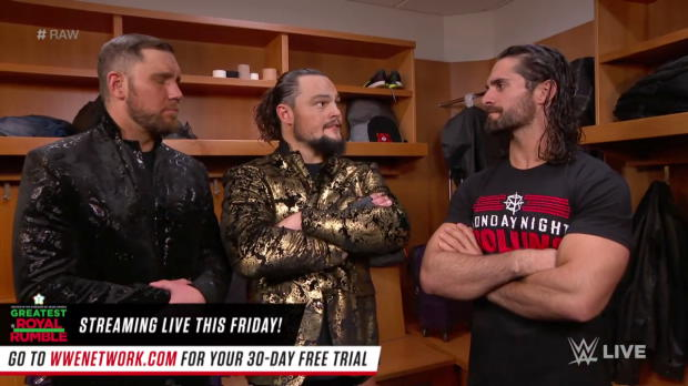 Bo Dallas & Curtis Axel try to form a new Shield with Seth Rollins: Raw, April 23, 2018