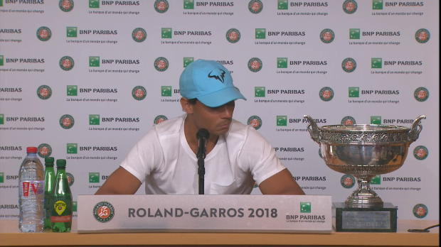 """French Open: Nadal: """"Für unmöglich gehalten"""""""