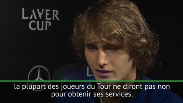 """Tennis : ATP - Zverev - """"Tous les joueurs aimeraient avoir Federer comme entraineur"""""""