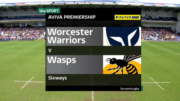 Aviva Premiership - Match Highlights - Worcester Warriors v Wasps