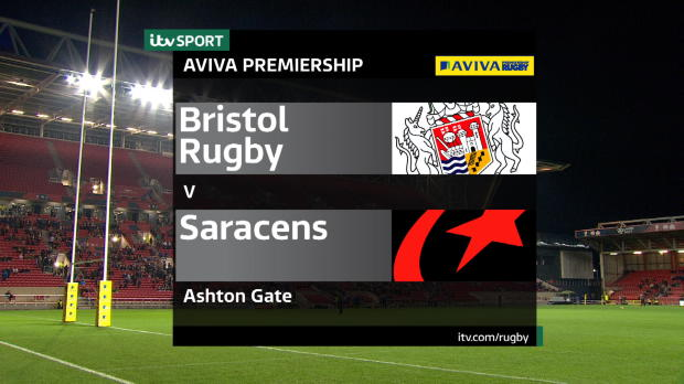 Aviva Premiership - Match Highlights:Bristol Rugby V Saracens