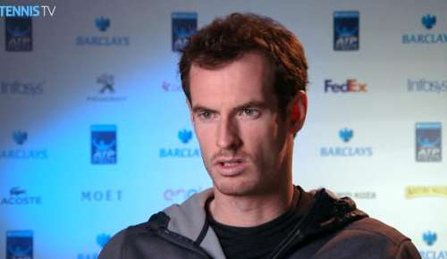 Murray Interview: ATP World Tour Finals RR
