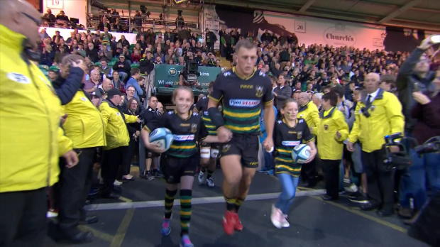 Aviva Premiership : Aviva Premiership - Match Highlights - Northampton Saints v Harlequins
