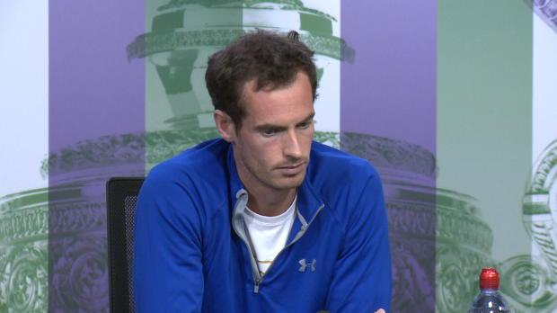 """""""Wie steht es?"""" - Fußball-WM lenkt Murray ab"""
