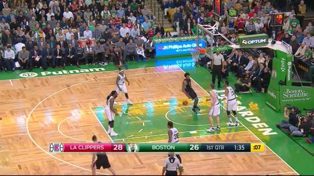 WSC: Highlights: DeAndre Jordan (21 points) vs. the Celtics, 2/10/2016