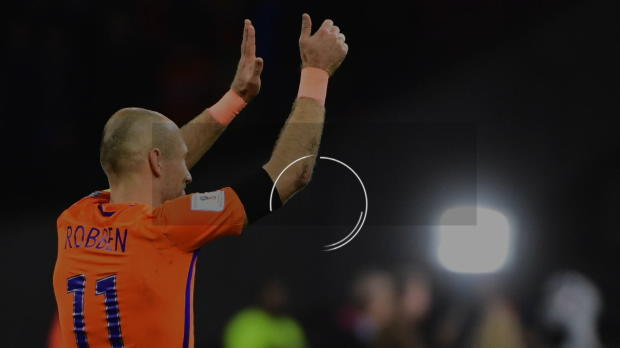 Niederlande: Robbens Oranje-Karriere in Zahlen