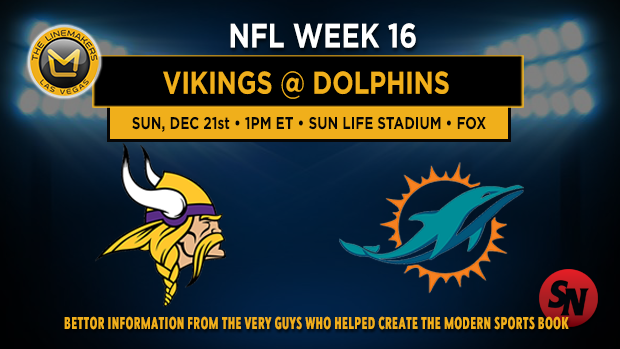 Minnesota Vikings @ Miami Dolphins