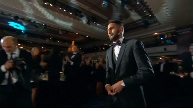 Riyad Mahrez Englands Fußballer des Jahres