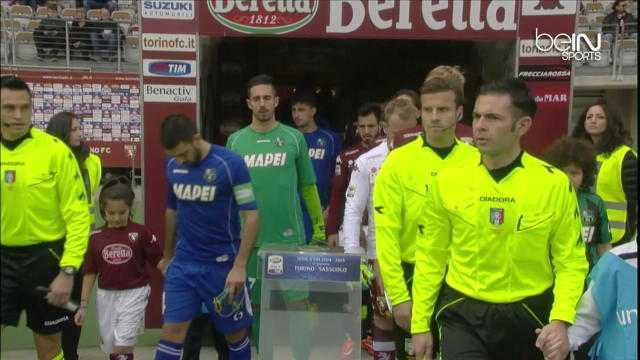 Serie A : Torino 0-1 Sassuolo