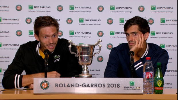 : Roland-Garros - Mahut - 'Du bonheur à l'état pur'