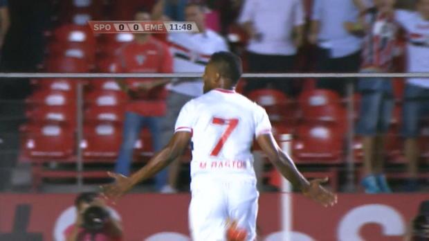 Sao Paulo a pris le dessus sur Emelec jeudi soir lors du quart de final aller de Copa Sudamericana (4-2). Mais les coéquipiers de Michel Bastos, qui menaient 3-0 à la pause, peuvent avoir des regrets.