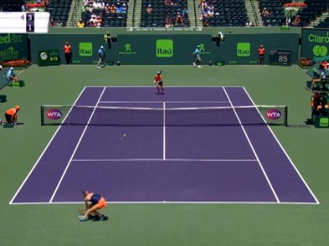 تنس: بطولة ميامي: كونتا تهزم هاليب 3-6 7-6 6-2