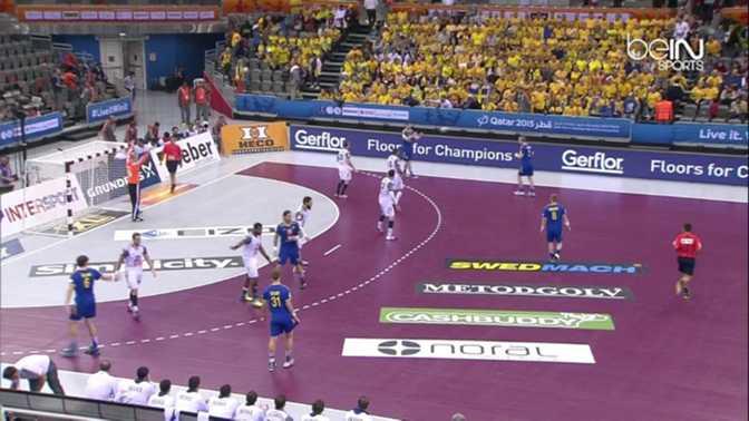 Handball : Suède 25-27 France