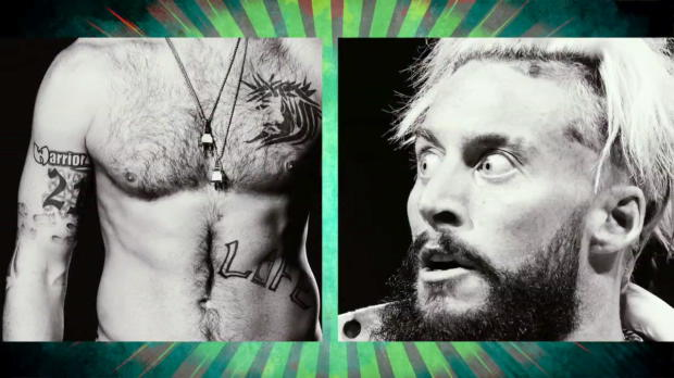 Which WWE Legend did Enzo Amore honor with a tattoo?: Superstar Ink