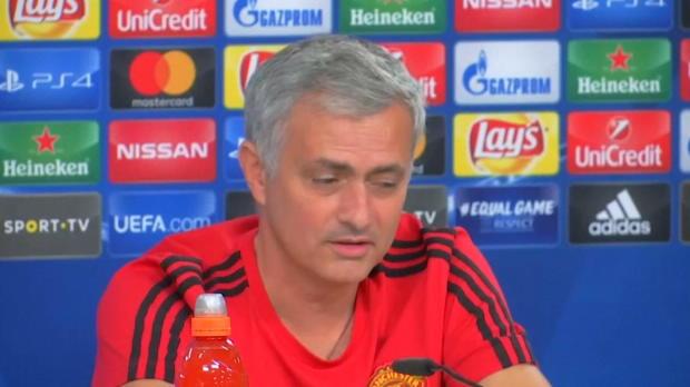 Das sagt Mourinho zu seiner Zukunft bei United