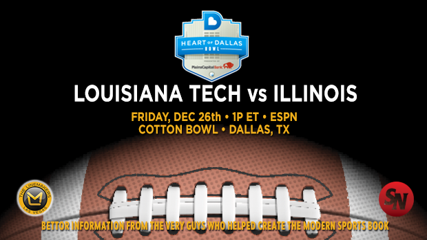 Illinois Fighting Illini @ Louisiana Tech Bulldogs
