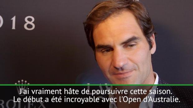 """Tennis : Interview - Federer - """"Je vais sans doute vivre une nouvelle grande saison"""""""