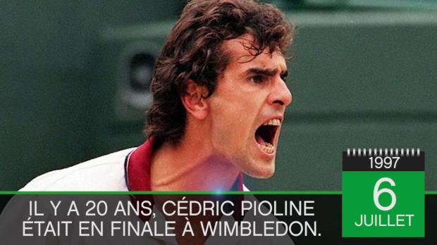 Tennis : Il y a 20 ans - Pioline s'inclinait en finale de Wimbledon