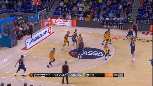 Basket : Euroligue (30e j.) - Heurtel en grande forme contre le Khimki Moscou