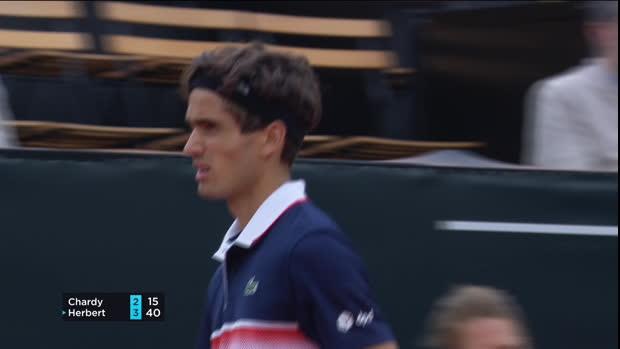 Tennis : OL - Herbert domine Chardy