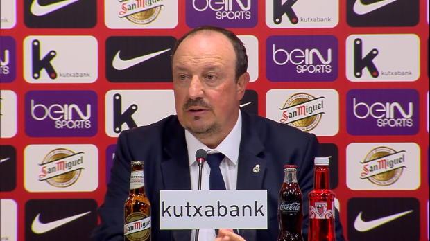 5e j. - Benitez - 'Benzema est un grand joueur'
